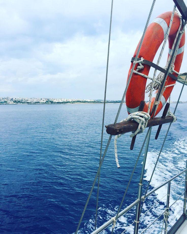 On board of the #Magellanos heading to Lindos  #spgmoments #escape2rhodes #sheratonrhodes #journeygreece #spgmoments2017 #spglife