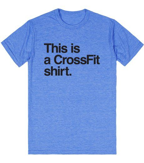 Size small- This is a Crossfit shirt