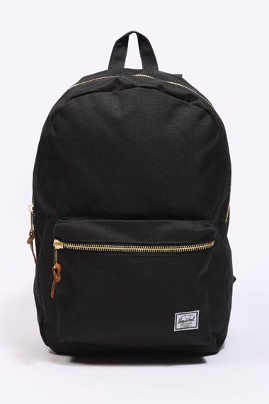 """Fantastic Herschel Black Settlement Bag - """"Perfect for when you need to carry that little bit more in style"""" - Find it here: http://tidd.ly/bbf54c5f"""