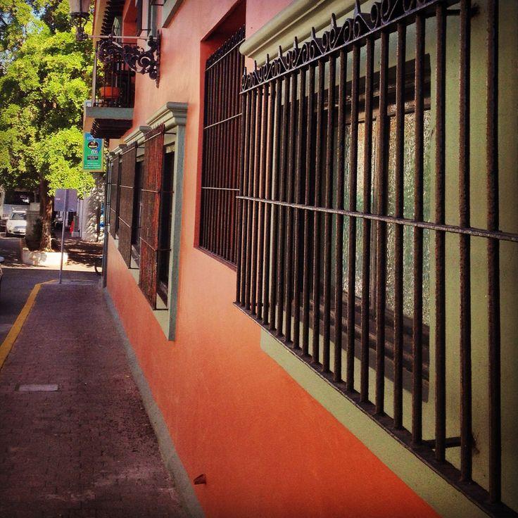 City street in Mazatlan, Mexico