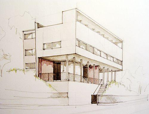 Le Corbusier und Pierre Jeanneret