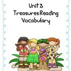 This file compliments 4th grade Treasures Reading Series vocabulary. This file is for a matching game.    It includes vocabulary for the following s...