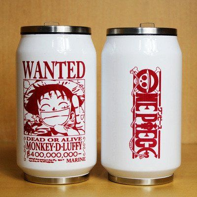 Free shipping 1pc Hot Anime One piece luffy Ace chopper Nami Zoro Stainless steel cup fashion mug - Clearlygeek - 5