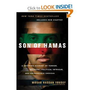 An incredible story about a son of terrorism's journey to Christ. Gripping. I couldn't put it down!