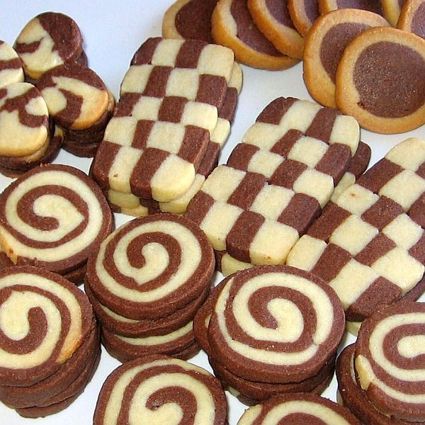 Black-and-White Cookies Recipe - Recipe for Czech Black-and-White ...
