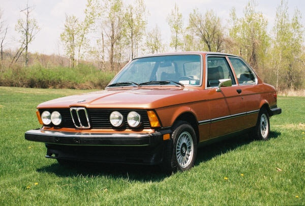 1977 BMW 320i I bought this as a used car maroon with