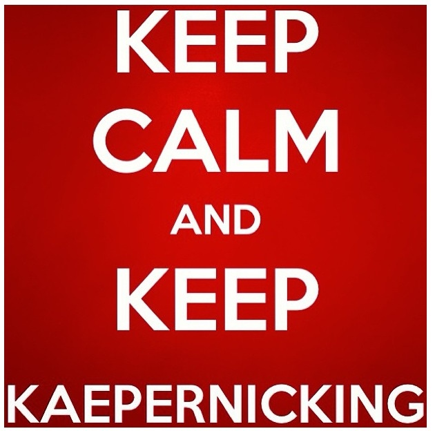 Kapernicking at its finest!!!  GO COLIN!!! You can DO IT...NINERS!!!