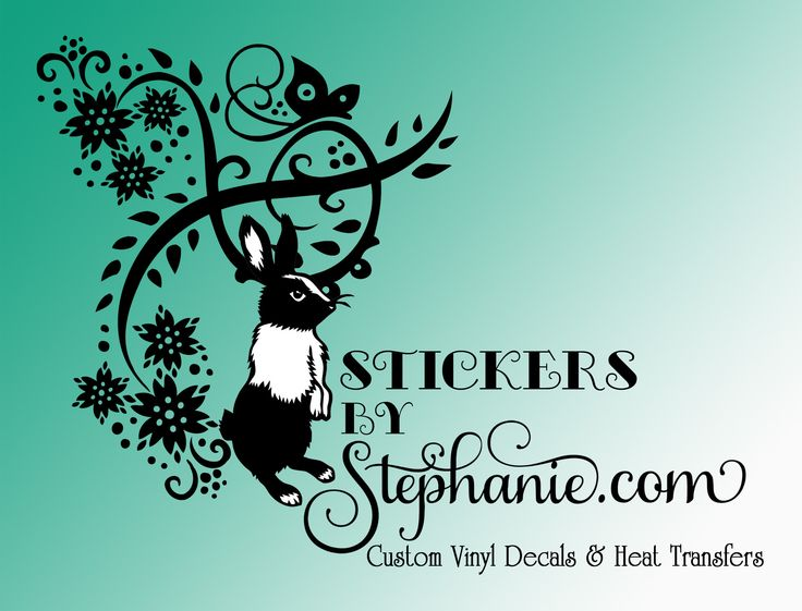 Best Stickers By Stephanie Vinyl Decals Heat Transfers - Custom vinyl record decals