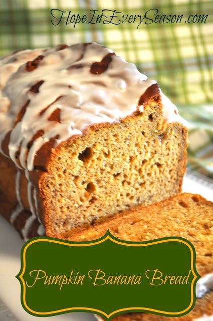 Bananas Pumpkin Breads Recipe, Breakfast Breads, Pumpkin Bananas