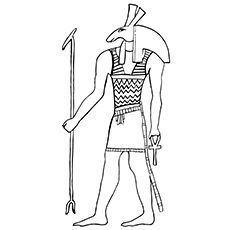 Egypt Coloring Pages - Anubis