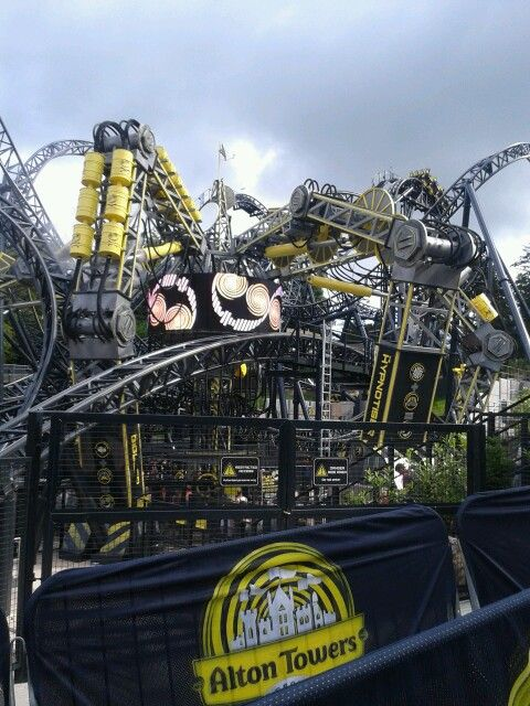 The Smiler!!!! Absolutely love this ride!!!! Laughed so much all the way round!