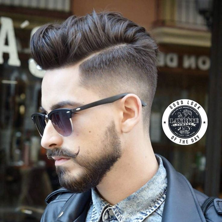 Check out today #goodlookoftheday. An #unstructred #pomp styled using #Layrite #Cement by Barber @nacho.viroga at @virogas.barber  Model: Alejandro  Want to get noticed for a Layite GoodLookoftheDay?  1) Tag us in your photo 2) Use the tag #lookatmelayrite 3) Use the tag #layrite 4)Tell us about the cut 5) And no matter what let us know what product was used. In this case it was #Layrite #Cement  #layritesuperhold #barbers #barbershops #styledwithlayrite #layritestyle #menshair #mensgrooming…