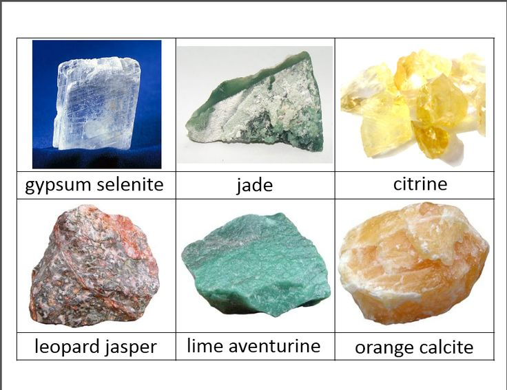 rock classification cards