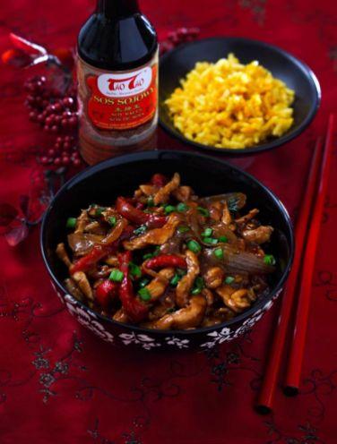 Kurczak po chińsku 5 smaków z sosem sojowym TaoTao