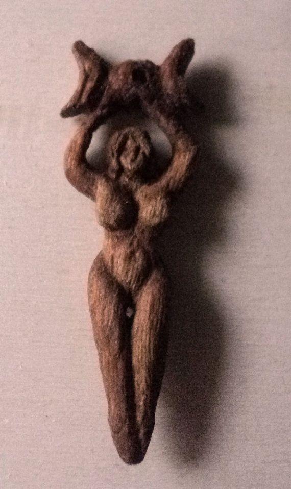 handmade wooden pagan Goddess by TOFRAR on Etsy