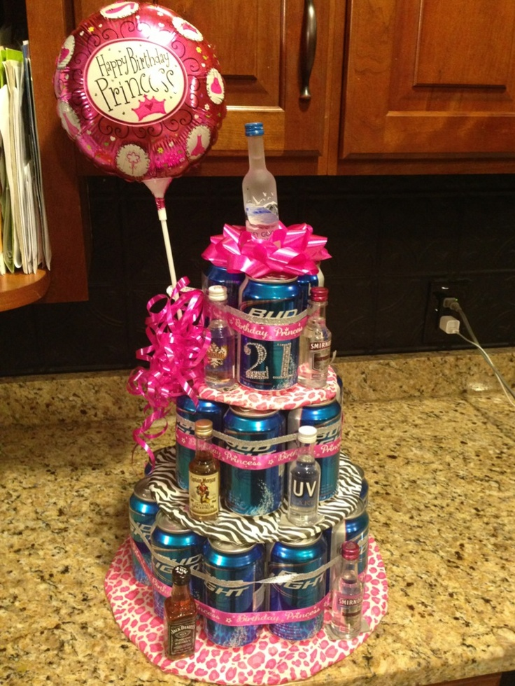 21st birthday present idea! Easy and creative!
