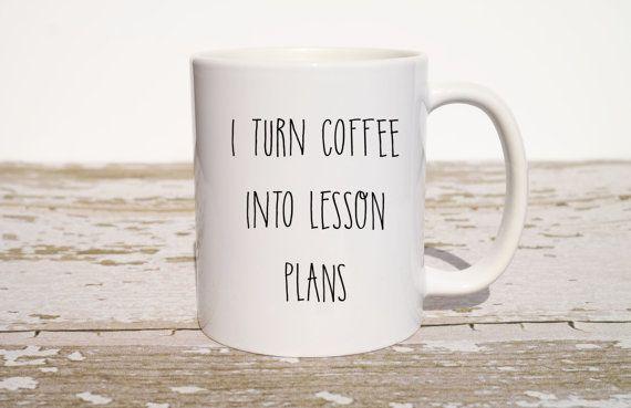 Teacher Coffee Mug Christmas Coffee Mug Funny by TheLoveMugs $17.00 Gift for professor  Teacher mug