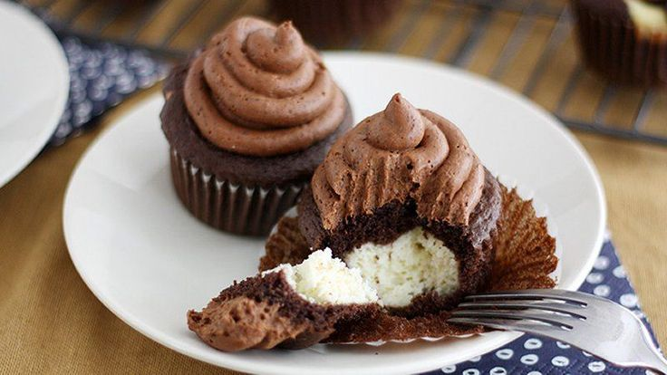 Blogger Stephanie Wise of  Girl versus Dough turns a classic Italian treat into tasty cupcakes.