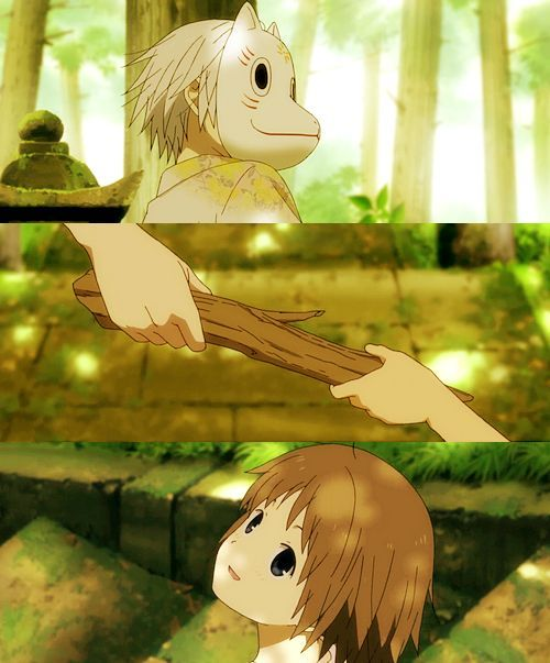i can't forget your love. Hotarubi no Mori e