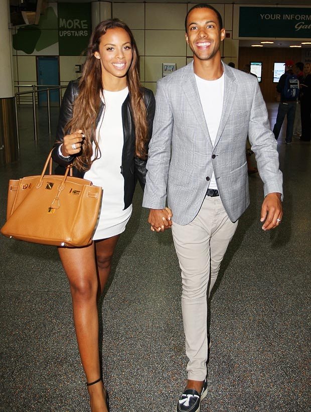 rochelle wiseman and marvin humes. love them.