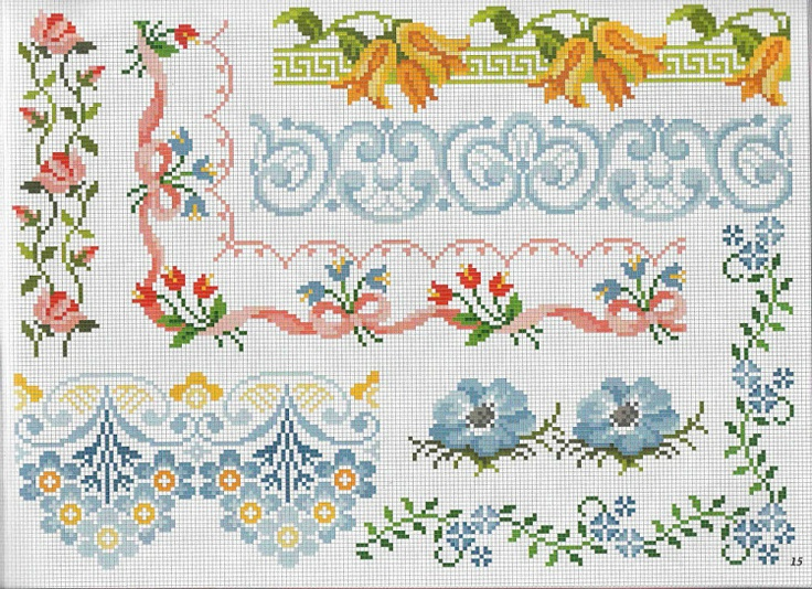Cross Stitch Borders