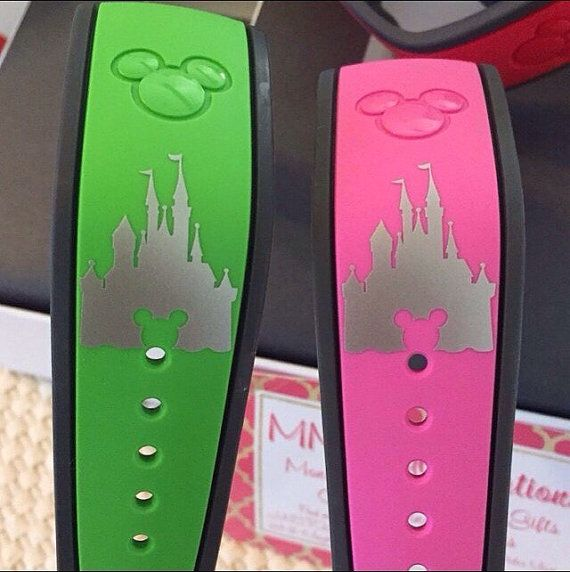 Disney Magic Band Decal  Disney Castle Decal  by MMVinylCreations