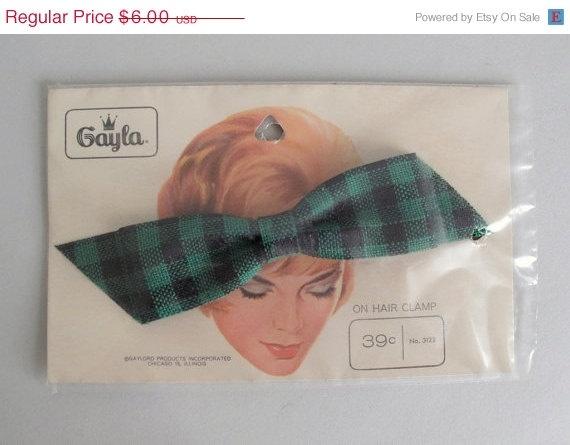 vintage hair bow