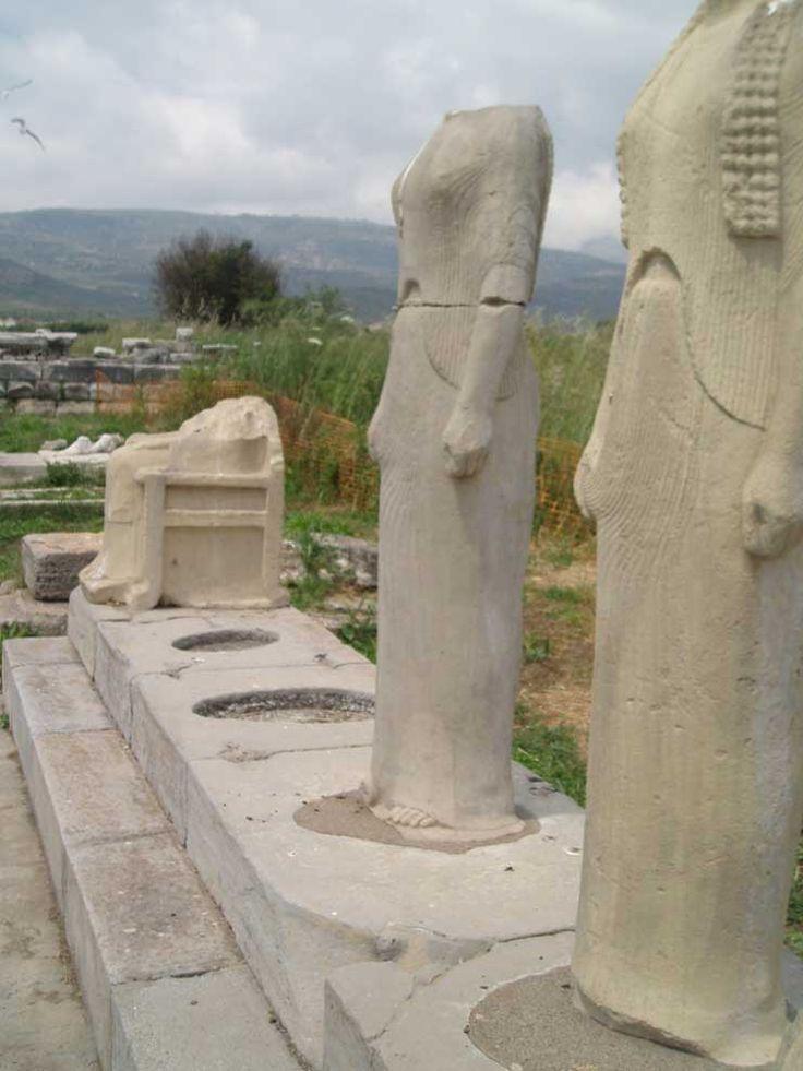 Samos, Greece.  http://www.worldheritagesite.org/sites/pythagoreionsamos.html