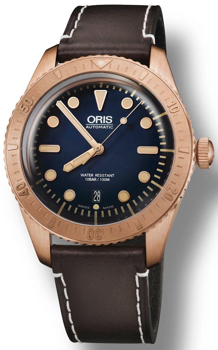 Montre Oris Diver Bronze