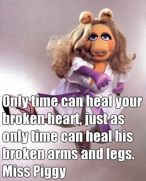 Words of wisdom from Miss Piggy