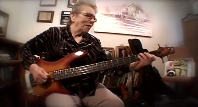 Carol Kaye: you may not recognize her name but chances are you're familiar with her work.  Now 81, the lady has laid down some deeply iconic bass tracks in a career spanning 55 years and something in the neighborhood of 10,000 recording sessions.  Joe Cocker's 'Feelin' Alright'?