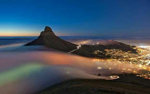 Beautiful view of Cape Town
