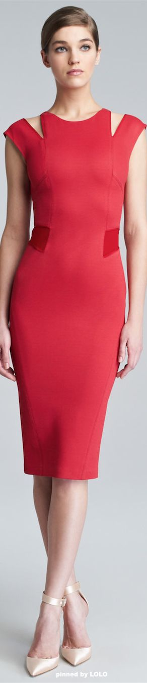 Zac Posen. What a fabulous foundation piece - to wear alone or accessorized. Take this anywhere.