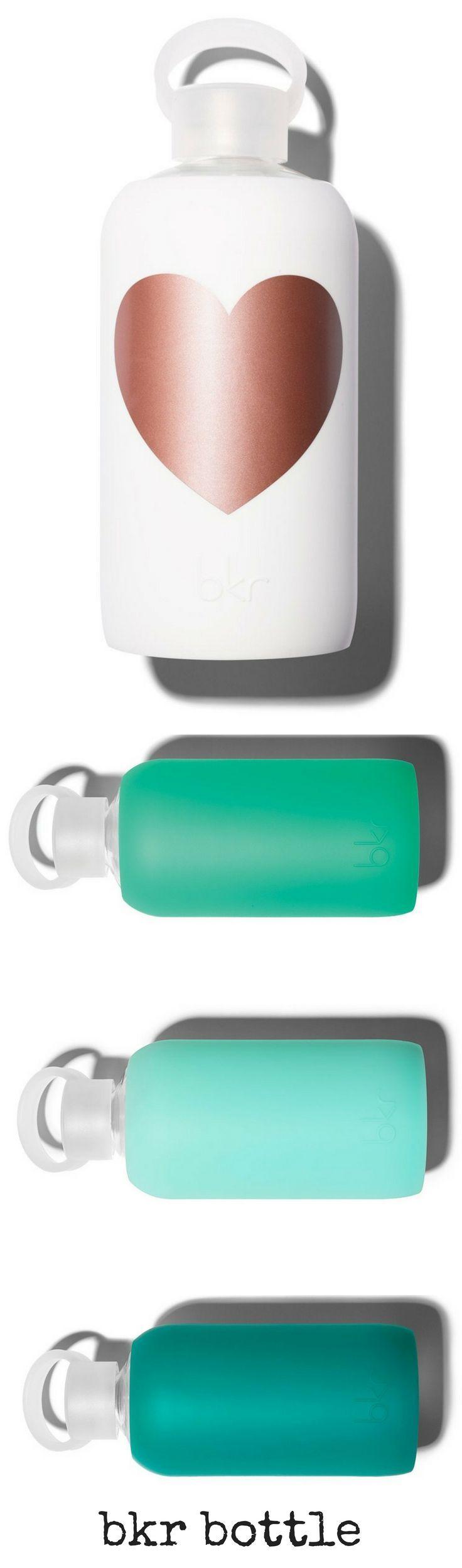 bkr bottle | bkr bottle colors | best water bottle | glass | silicone | healthy | safe | Tiffany blue | heart | sponsored