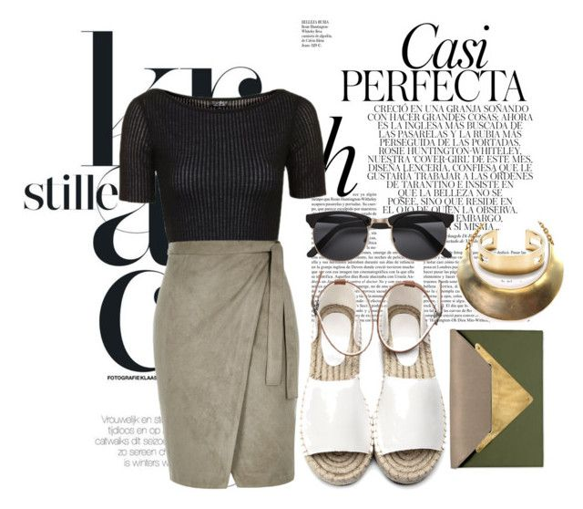 """""""Untitled No.  412"""" by catherine-megan-jones on Polyvore featuring Whiteley, Dareen Hakim, Topshop and River Island"""