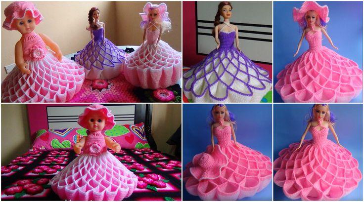 Crochet Doll Dress – Vestido Para Muñeca