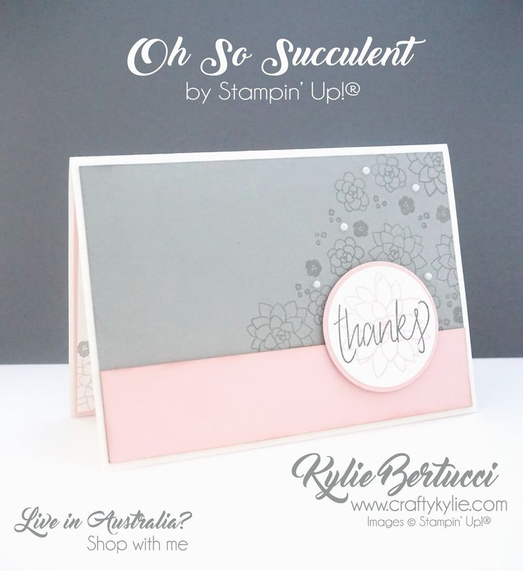 Kylie Bertucci - Click on the picture to see more of Kylie's Designs. #stampinup #cardmaking #handmadecard #rubberstamps #stamping #kyliebertucci