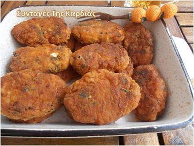 ΣΥΝΤΑΓΕΣ ΤΗΣ ΚΑΡΔΙΑΣ: Ντοματοκεφτέδες - appetizers with tomato and herbs
