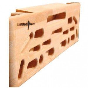 Klettern & Bouldern: Dieses Hochwertige Echtholz-Board ist ideal zum Training für Boulderer und Kletterer. Vielseitig einsetzbar macht dich Lumberjack bereit für Herausforderungen an Wand und Hang! Kletterboard, Klettertraining, Fingertraining, Fitness, climbing, training board