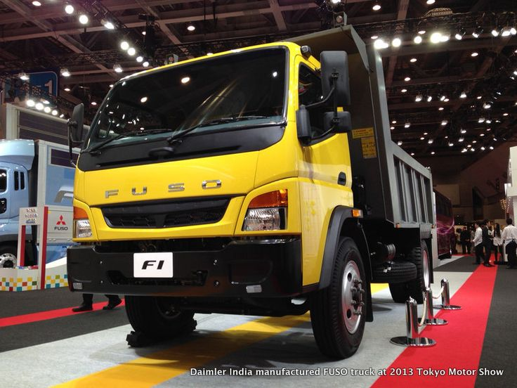 Daimler India manufactured FUSO truck at 2013 Tokyo Motor Show Read more at http://www.rushlane.com/daimler-india-manufactured-1296693.html#4lyULKXDKCLW1ZYK.99