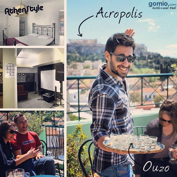 AthenStyle, Athens  http://www.gomio.com/en/hostels/europe/greece/athens/athenstyle/overview.htm