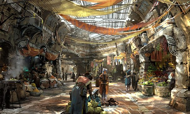 These brand new images of Disney's Star Wars Land are as beautiful as a Tatooine sunset