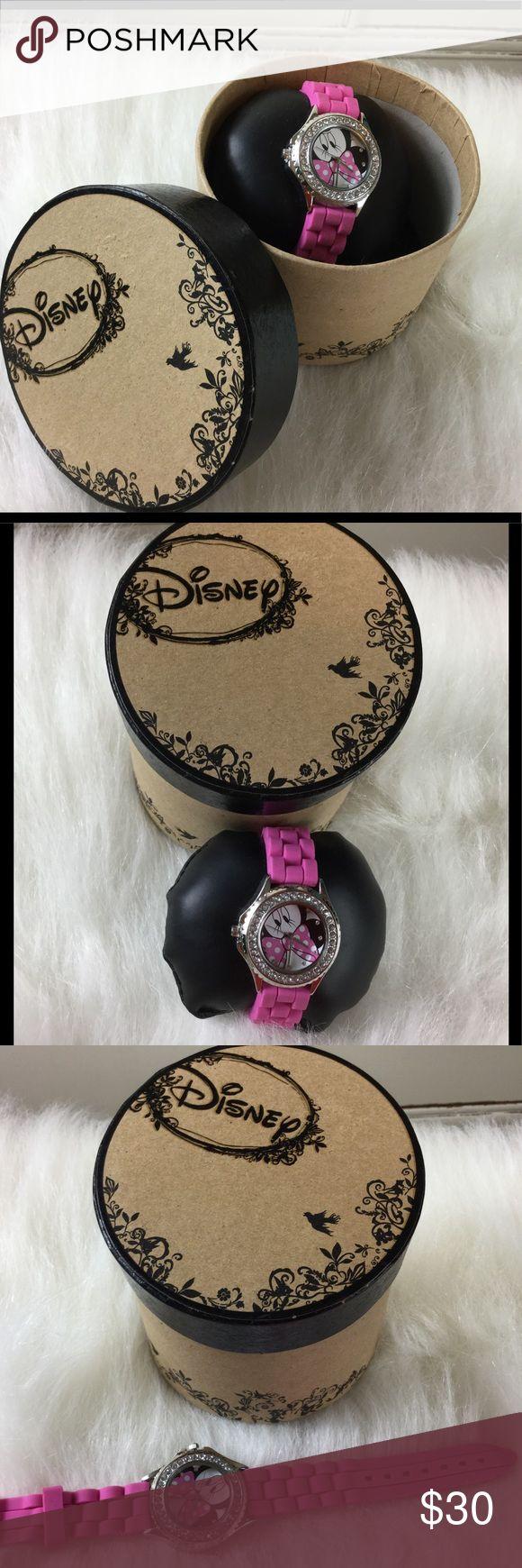 Brand New Disney Watch Brand New Disney Minnie Mouse Watch Disney Accessories Watches