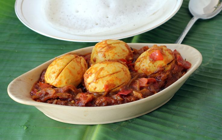 Egg roast with Appam is the best breakfast food combination among Kerala style recipes. Nadan egg roast is flavorful and one of the best Indian egg dishes.
