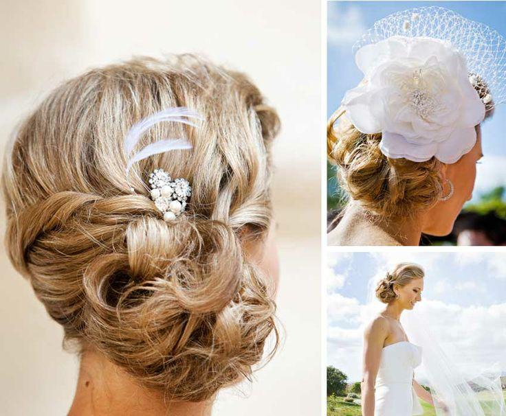 Coiffures de mariage pour cheveux blonds   Tout pour mon mariage