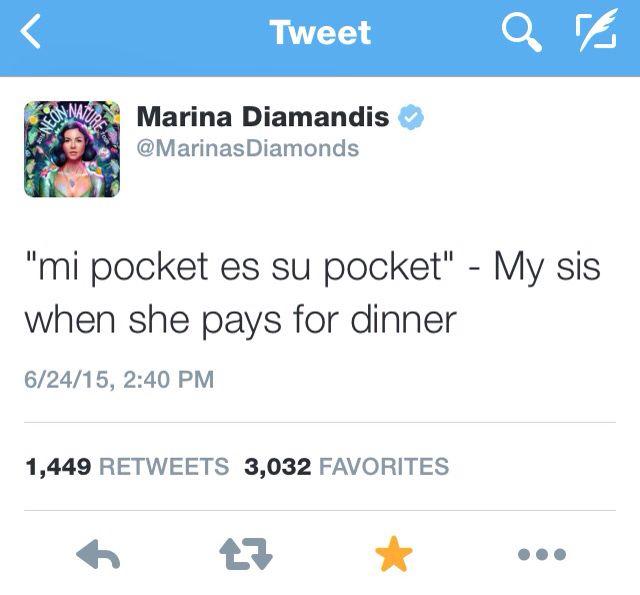 Post Malone Sad Quotes: Marina & Lafina Diamandis