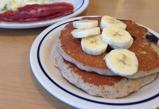 IHOP fieldtrip - OMG.  Not an easy task to find a healthful pancake entree there.