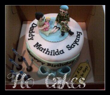 Army family cake