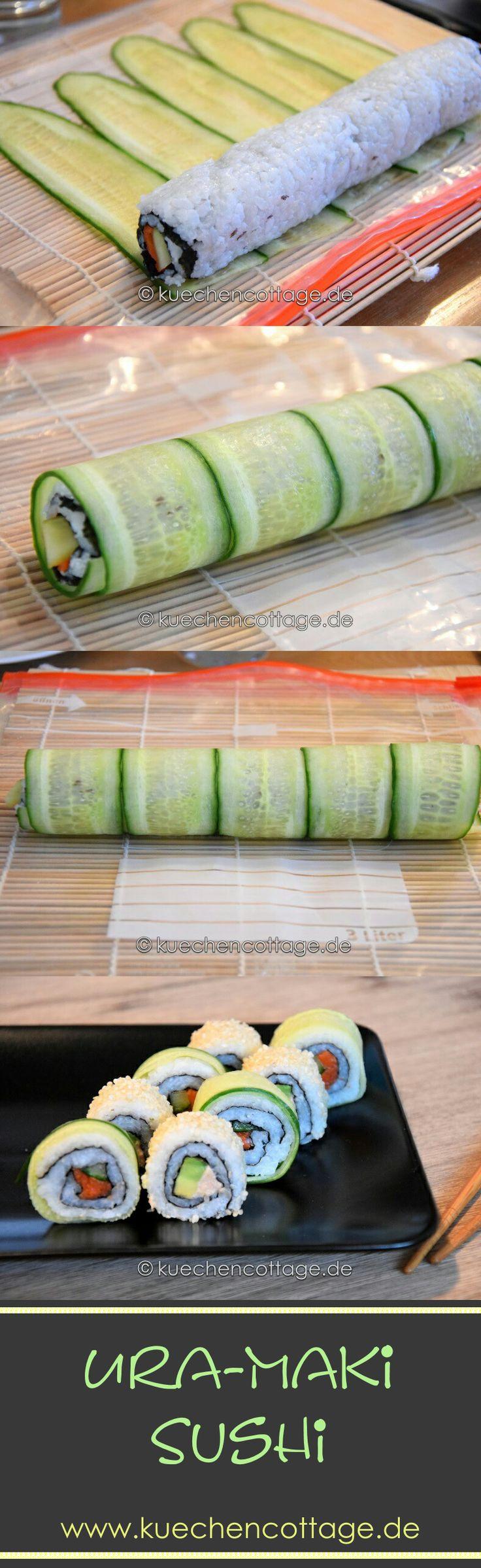 Großes Sushi Special | Küchencottage http://kuechencottage.de/sushi/ Großes Sushi-Special bei Küchencottage. Leckere Kombinationen, Rezepte, Erklärungen und Anleitungen. #sushi #rezepte #anleitung #erklärung #arten #uramaki #maki #kochen #gesund #modern #ideen #blog