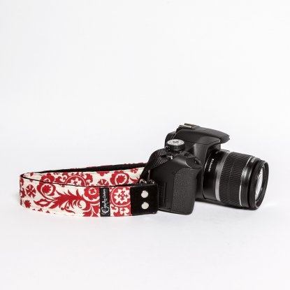 Penelope Rose Kameragurt - DESIGNSTRAPS - Kameragurte, Kamerataschen, C-Loop, Gitarrengurte, Camera Straps